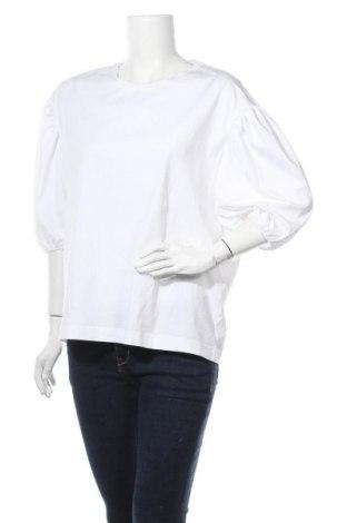 Дамска блуза Arket, Размер S, Цвят Бял, Памук, Цена 59,25лв.