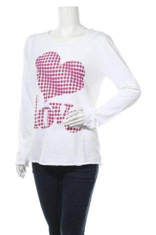 Γυναικεία μπλούζα Aust, Μέγεθος M, Χρώμα Λευκό, Βαμβάκι, Τιμή 5,45€