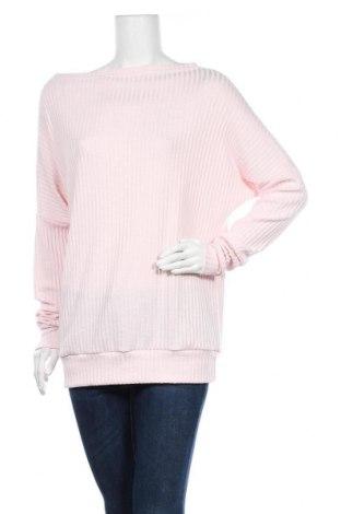 Дамска блуза Awama, Размер M, Цвят Розов, 72% полиестер, 23% вискоза, 5% еластан, Цена 18,40лв.