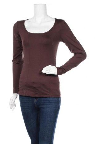 Дамска блуза B.C. Best Connections, Размер S, Цвят Кафяв, 90% полиамид, 10% еластан, Цена 10,92лв.