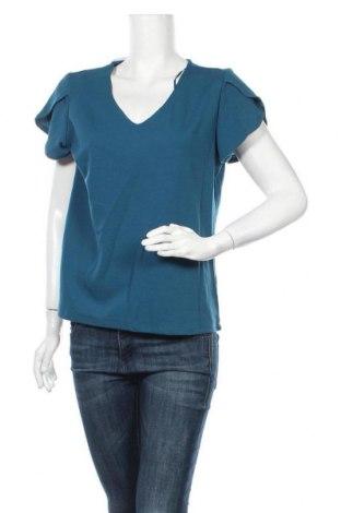 Γυναικεία μπλούζα B Collection, Μέγεθος XL, Χρώμα Μπλέ, Πολυεστέρας, ελαστάνη, Τιμή 11,04€