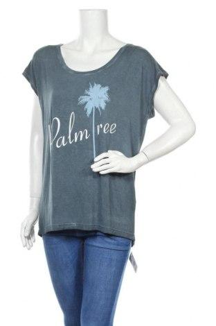 Γυναικεία μπλούζα Beach Time, Μέγεθος M, Χρώμα Γκρί, 95% βισκόζη, 5% ελαστάνη, Τιμή 10,87€