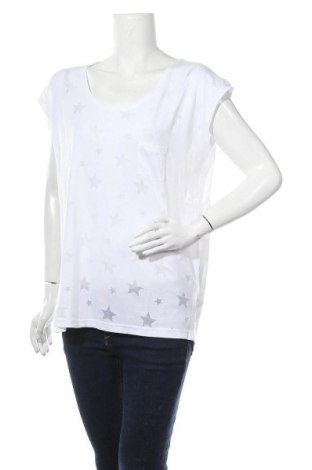 Γυναικεία μπλούζα Beach Time, Μέγεθος S, Χρώμα Λευκό, 50% βαμβάκι, 50% πολυεστέρας, Τιμή 9,29€