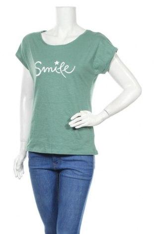 Γυναικεία μπλούζα Beach Time, Μέγεθος S, Χρώμα Πράσινο, Βαμβάκι, Τιμή 9,29€