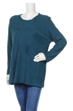 Γυναικεία μπλούζα Bexleys, Μέγεθος XL, Χρώμα Μπλέ, 50% μοντάλ, 50% βαμβάκι, Τιμή 11,72€