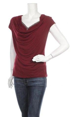 Дамска блуза Body Fit, Размер M, Цвят Червен, 95% вискоза, 5% еластан, Цена 9,45лв.