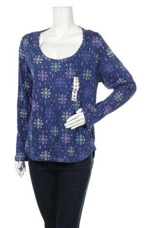 Дамска блуза Bongo, Размер XL, Цвят Многоцветен, 60% памук, 40% модал, Цена 10,40лв.