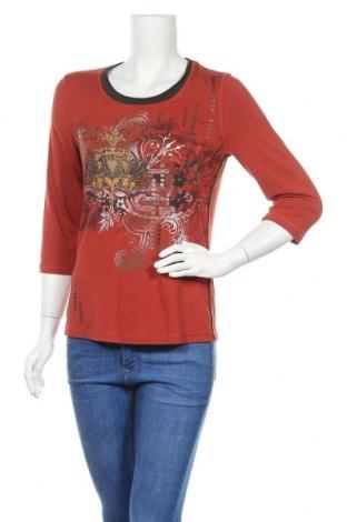 Γυναικεία μπλούζα Bonita, Μέγεθος S, Χρώμα Κόκκινο, 95% βισκόζη, 5% ελαστάνη, Τιμή 8,18€