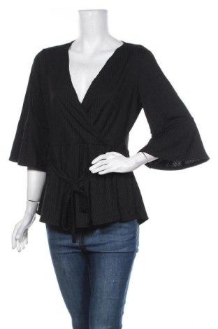 Γυναικεία μπλούζα Boohoo, Μέγεθος XL, Χρώμα Μαύρο, 95% πολυεστέρας, 5% ελαστάνη, Τιμή 24,68€
