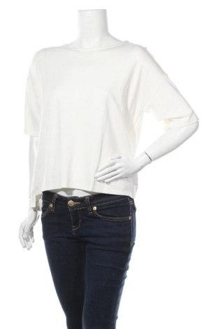 Γυναικεία μπλούζα Broadway, Μέγεθος L, Χρώμα Λευκό, 85% βισκόζη, 12% πολυαμίδη, 3% ελαστάνη, Τιμή 13,89€