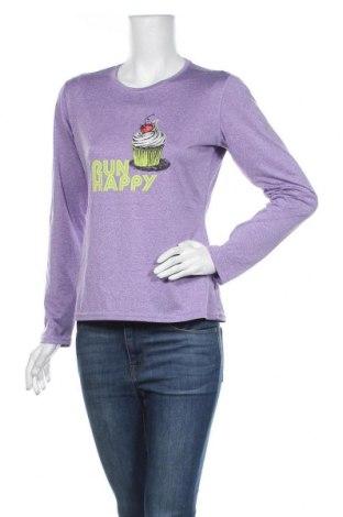 Γυναικεία μπλούζα Brooks, Μέγεθος M, Χρώμα Βιολετί, Πολυεστέρας, Τιμή 5,84€