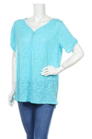 Γυναικεία μπλούζα C&A, Μέγεθος XL, Χρώμα Μπλέ, 63% πολυεστέρας, 37% βαμβάκι, Τιμή 9,94€