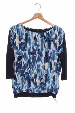 Γυναικεία μπλούζα COS, Μέγεθος XS, Χρώμα Μπλέ, Μετάξι, βισκόζη, ελαστάνη, Τιμή 22,73€