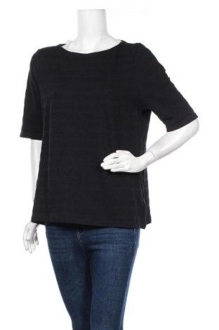 Дамска блуза Charter Club, Размер L, Цвят Черен, Памук, Цена 17,96лв.