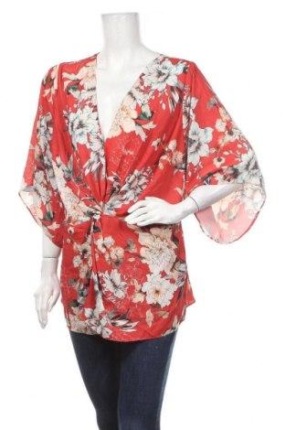 Дамска блуза Chi Chi, Размер XL, Цвят Многоцветен, Полиестер, Цена 10,97лв.