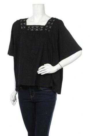 Дамска блуза Chicoree, Размер M, Цвят Черен, Памук, Цена 17,85лв.