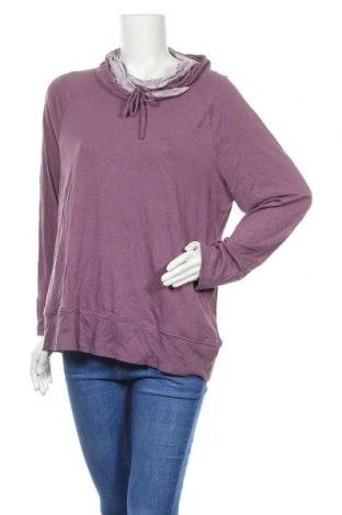 Γυναικεία μπλούζα Christopher & Banks, Μέγεθος XL, Χρώμα Βιολετί, 58% βαμβάκι, 38% μοντάλ, 4% ελαστάνη, Τιμή 14,55€