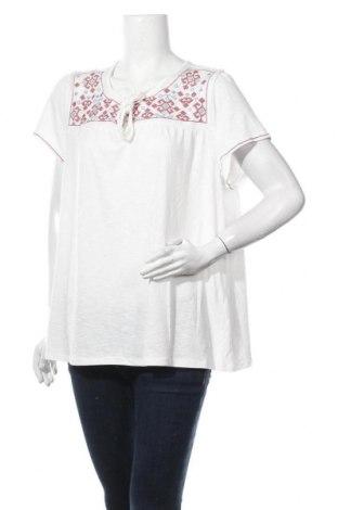 Γυναικεία μπλούζα Christopher & Banks, Μέγεθος XL, Χρώμα Λευκό, 66% πολυεστέρας, 31% βισκόζη, 3% ελαστάνη, Τιμή 10,39€