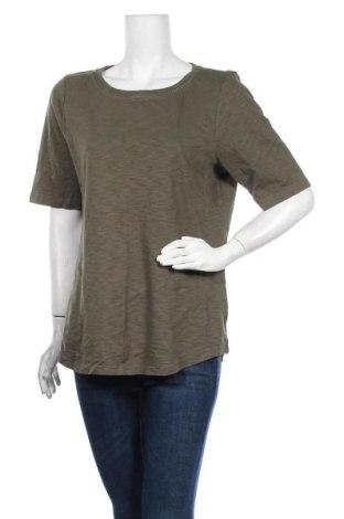 Γυναικεία μπλούζα Christopher & Banks, Μέγεθος L, Χρώμα Πράσινο, Βαμβάκι, Τιμή 10,49€