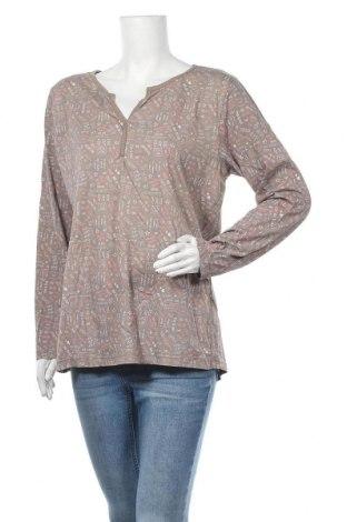 Дамска блуза Colours Of The World, Размер L, Цвят Кафяв, Памук, Цена 16,80лв.