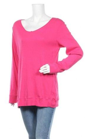 Дамска блуза Colours Of The World, Размер XL, Цвят Розов, Памук, Цена 16,80лв.