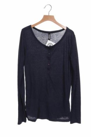 Дамска блуза Colours Of The World, Размер XS, Цвят Син, 65% полиестер, 35% памук, Цена 15,96лв.