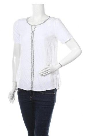 Γυναικεία μπλούζα Comma,, Μέγεθος S, Χρώμα Λευκό, Βισκόζη, Τιμή 32,48€