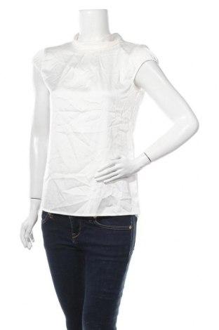 Γυναικεία μπλούζα Comma,, Μέγεθος S, Χρώμα Λευκό, 95% πολυεστέρας, 5% ελαστάνη, Τιμή 30,54€