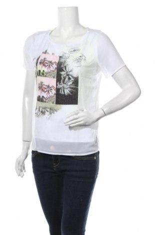 Γυναικεία μπλούζα Comma,, Μέγεθος S, Χρώμα Λευκό, 97% πολυεστέρας, 3% ελαστάνη, Τιμή 22,05€