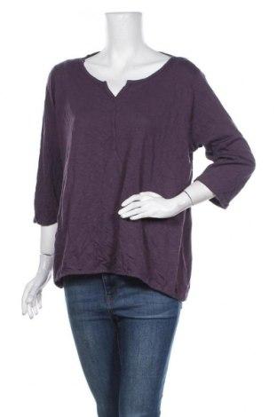 Дамска блуза Cool Code, Размер XL, Цвят Лилав, 50% памук, 50% модал, Цена 4,46лв.