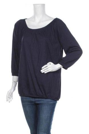 Дамска блуза Cool Code, Размер L, Цвят Син, 50% памук, 50% модал, Цена 17,96лв.
