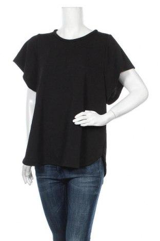 Γυναικεία μπλούζα Country Road, Μέγεθος XL, Χρώμα Μαύρο, 96% πολυεστέρας, 4% ελαστάνη, Τιμή 16,66€