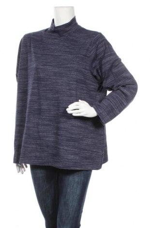 Γυναικεία μπλούζα Croft & Barrow, Μέγεθος XXL, Χρώμα Μπλέ, 84% βαμβάκι, 12% πολυεστέρας, 4% ελαστάνη, Τιμή 16,24€