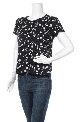 Γυναικεία μπλούζα Cropp, Μέγεθος L, Χρώμα Μαύρο, Βαμβάκι, Τιμή 18,19€