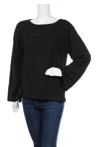 Γυναικεία μπλούζα Cubus, Μέγεθος L, Χρώμα Μαύρο, 95% βαμβάκι, 5% ελαστάνη, Τιμή 10,00€