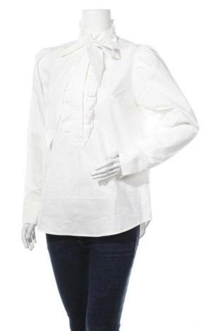 Дамска блуза Day Birger Et Mikkelsen, Размер M, Цвят Екрю, Памук, Цена 49,50лв.