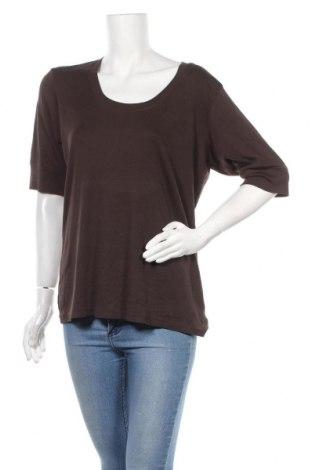 Γυναικεία μπλούζα Denver Hayes, Μέγεθος XXL, Χρώμα Καφέ, 98% βαμβάκι, 2% ελαστάνη, Τιμή 12,34€