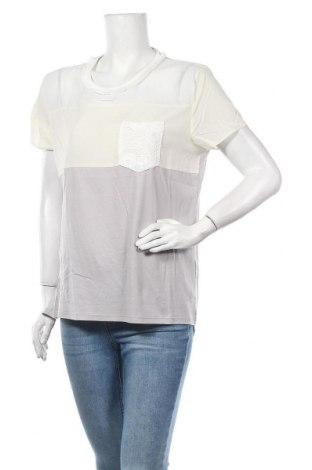 Γυναικεία μπλούζα Desigual, Μέγεθος XL, Χρώμα Πολύχρωμο, 55% lyocell, 27% βαμβάκι, 18% πολυεστέρας, Τιμή 18,32€