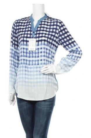 Γυναικεία μπλούζα Desigual, Μέγεθος L, Χρώμα Μπλέ, 60% βισκόζη, 32% lyocell, 8% πολυεστέρας, Τιμή 38,56€