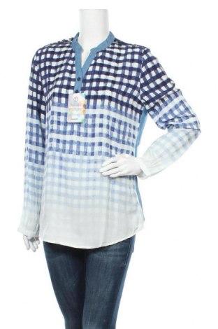 Γυναικεία μπλούζα Desigual, Μέγεθος XL, Χρώμα Μπλέ, 60% βισκόζη, 32% lyocell, 8% πολυεστέρας, Τιμή 26,60€