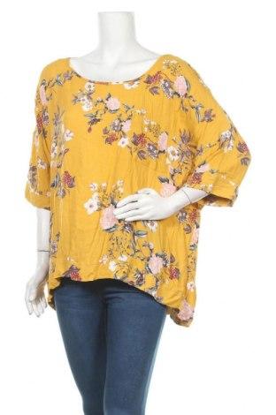 Γυναικεία μπλούζα Dotti, Μέγεθος XL, Χρώμα Κίτρινο, Βισκόζη, Τιμή 9,38€