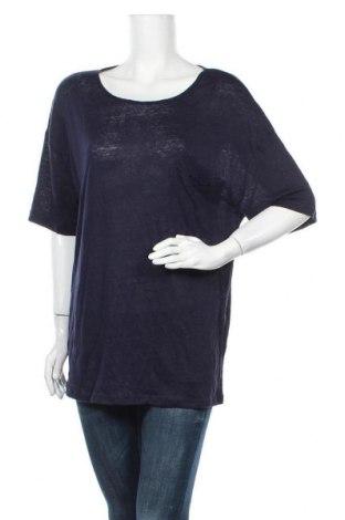 Γυναικεία μπλούζα Dotti, Μέγεθος M, Χρώμα Μπλέ, Λινό, Τιμή 15,43€