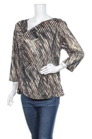 Дамска блуза Dressbarn, Размер XL, Цвят Бежов, 96% полиестер, 4% еластан, Цена 6,72лв.