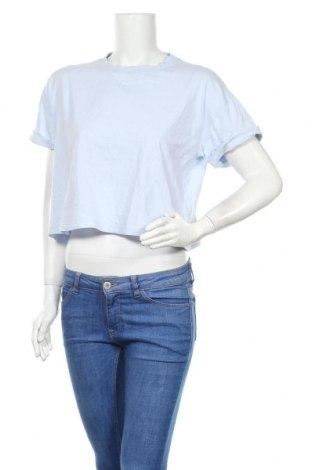 Дамска блуза Edited, Размер S, Цвят Син, Памук, Цена 16,96лв.