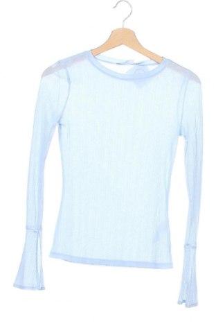 Γυναικεία μπλούζα Edited, Μέγεθος XS, Χρώμα Μπλέ, Πολυεστέρας, Τιμή 11,11€