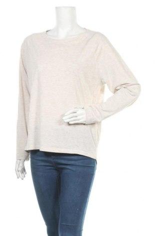 Γυναικεία μπλούζα Elbsand, Μέγεθος L, Χρώμα  Μπέζ, 50% βαμβάκι, 50% πολυεστέρας, Τιμή 15,30€
