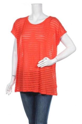 Γυναικεία μπλούζα Ellos, Μέγεθος XL, Χρώμα Πορτοκαλί, 79% βισκόζη, 18% πολυεστέρας, 3% ελαστάνη, Τιμή 10,39€