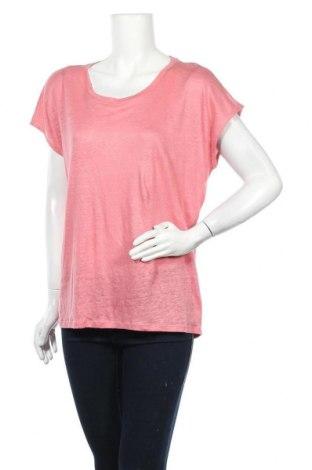 Γυναικεία μπλούζα Esprit, Μέγεθος XL, Χρώμα Ρόζ , Λινό, Τιμή 18,95€