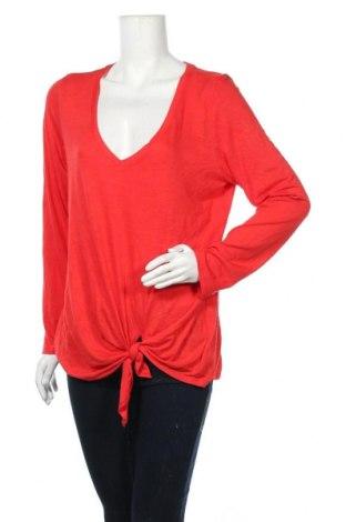 Γυναικεία μπλούζα Express, Μέγεθος L, Χρώμα Κόκκινο, 67% μοντάλ, 28% πολυεστέρας, 5% ελαστάνη, Τιμή 9,94€