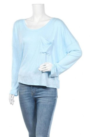 Γυναικεία μπλούζα Express, Μέγεθος L, Χρώμα Μπλέ, 67% μοντάλ, 28% πολυεστέρας, 5% ελαστάνη, Τιμή 10,00€